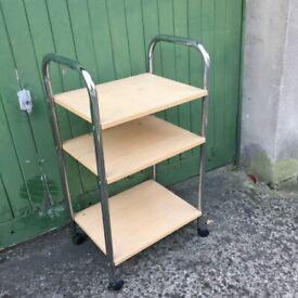 Food/Art trolley