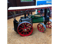 Mamod TE 1a Traction Engine. Runs like a train! Box, but not great condition. Seeking a new owner...