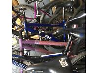 Various bikes for sale ideal for car boot job or export to Africa