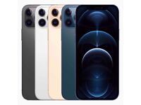 FREE POSTAGE Pro Max 12 Backup IPhone Black & Gold Face ID, Unlocked To All Network