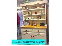 Vintage, shabby chic dresser REDUCED
