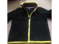 Girls/boys Polo fleece jacket 2/2t