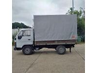 Left hand drive Toyota Dyna 150 2.5 diesel single wheel 3.5 Ton tilt truck.