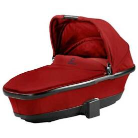 The Quinny Foldable Carrycot and includes free matching pram