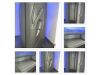 Vertical and lie down Sunbed excellent condition both recently retubed