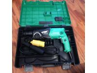 hitachi hammer drill 110v brand new in case