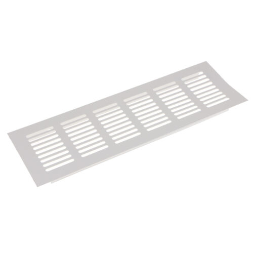 MagiDeal Aluminum Alloy Air Vent Louvered Grill Cover Ventilation 80x250mm
