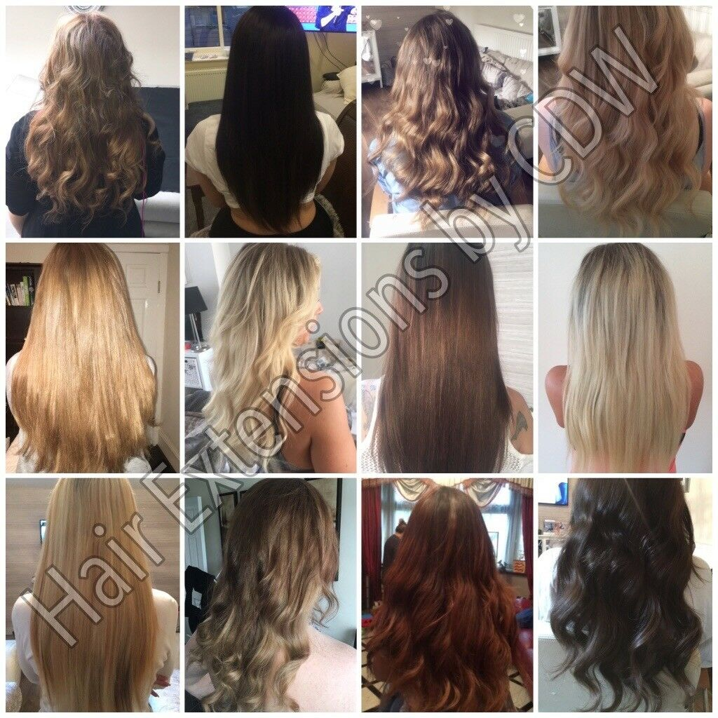 Mobile Hair Extensions Tape Ins Microrings Microweft Keratin