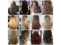 Mobile Hair Extensions- Tape Ins, microrings, Microweft, keratin bonds, keratin straightening