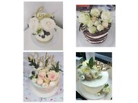 wedding cupcakes £1/wedding cake £45