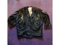 Ladies designer style soft leather jacket