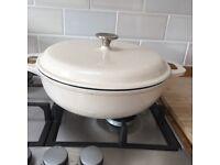 Denby cast iron casserole pan/dish