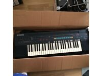 Casio Casiotone CT-460 , 465 Sound Tone Bank PCM keyboard, Boxed