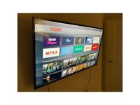 """TCL 55"""" 4K Smart TV with remote"""