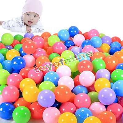 5.5cm 200 Phthalate Free BPA Free Crush Proof Soft Plastic Colorful Ocean Balls