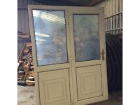 PVC door inc side panel