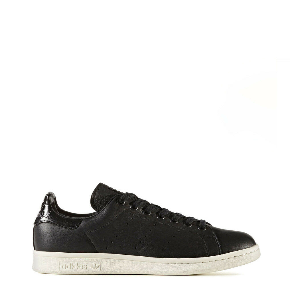 ADIDAS CHAUSSURES STAN SMITH BZ0467_StanSmith NOIR BLACK UNISEXE CUIR BASKETS