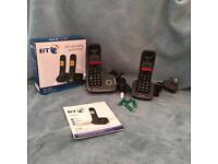 BT Digital twin cordless phone- Brand new