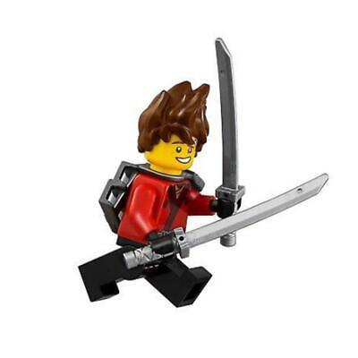 LEGO Ninjago Movie 70629 Kai minifigure w/ swords ONLY (New, 2018)