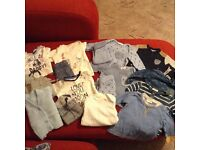 Bundle of baby boy clothes 0-3mths