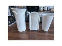 Kaiser Germany porcelain vases
