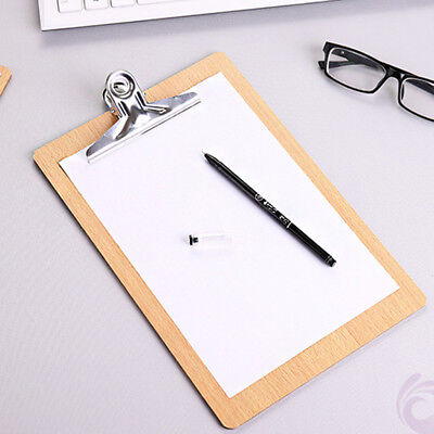 Compact Mini Wood Clipboard To Take Notes To-do Lists A5 Half Letter Size