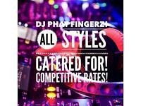 DJ PHATFINGERZ FALKIRK SURROUNDING AREAS GOOD RATES ALL STYLES PARTIES WEDDINGS PUBS ETC. 15 YRS EXP