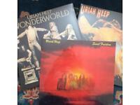 New sealed Uriah heep LPs