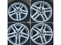 "Ford 16"" alloy wheels transit connect / focus / cmax"