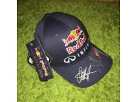 Signed Sebastian Vettel hat
