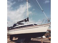 Newbridge Venturer - Bilge Keel - Sail Boat - Yacht - 22 Foot