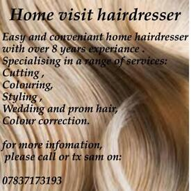 Home visit hairdresser!!!