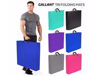 Brand new Gallant Tri Folding Mat 5CM Thick Foam Yoga Exercise Gym Floor 180cm X 60cm Mat