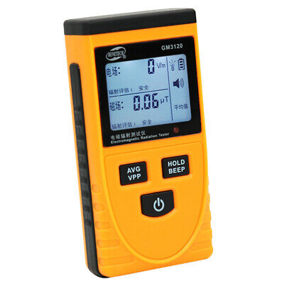 High Accuracy Radiation Detector Counter Meter Dosimeter With Large Lcd Screen