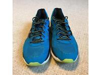 Blue Ascics Trainers