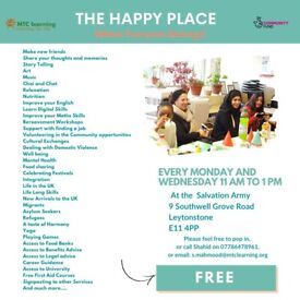 THE HAPPY PLACE - YOUR COMMUNITY CENTRE - WHERE EVERYONE BELONG