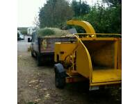 Vermeer woodchipper