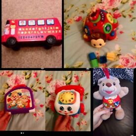 Vtech and fisher price bundle