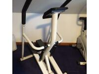 Gold's Gym exercise bike and stepper