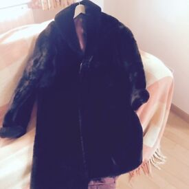 Ladies Beaver Coat vintage