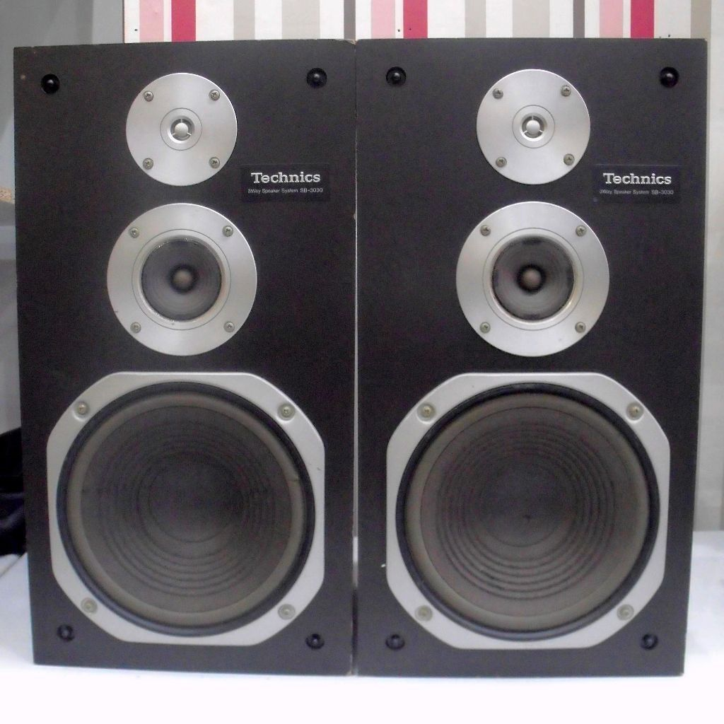 Effortless Sounds From These Sb 3030 Technics Speakers For