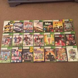 Xbox 360 with Kinect and 21 games