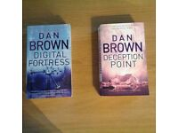Dan Brown books in really good condition