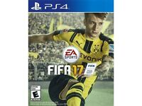 PS4 Fifa 17 in excellent condition