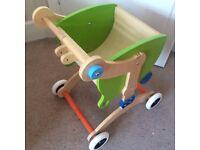 Grow Up Mishi Design Child Walker / Ride-on / Trolley