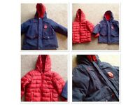 Boys Coat Spiderman Design 3-4 Years