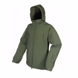 Viper Spec Ops Soft Shell Jacket Coat Waterproof Fleece Lining Green Airsoft
