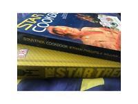 Star Trek Cook Book & The Star Trek Book Strange New Worlds