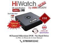 Hikvision 8 Channel 1080P Full Turbo-HD TVI Cube DVR