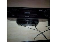 Sony clock radio with ipod dock charger